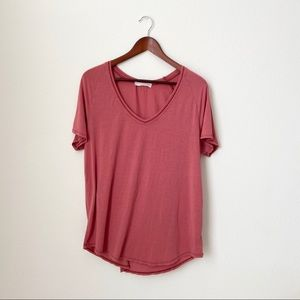 UO•Pink Soft Plain Tee